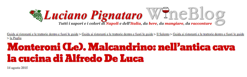 Il wine blog di Luciano Pignataro